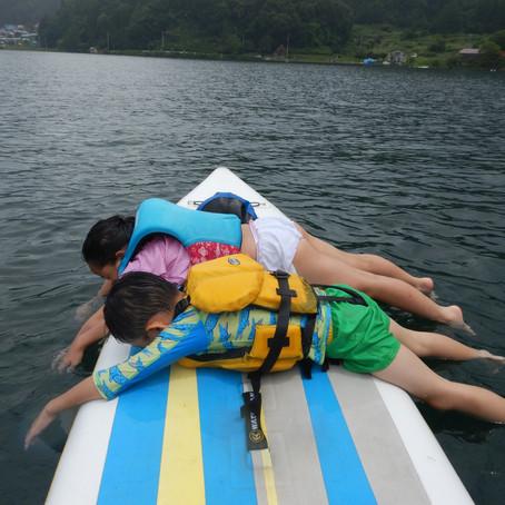 野尻湖じっくり満喫水遊び