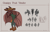 Gossipy Fruit Vendor Character Sheet