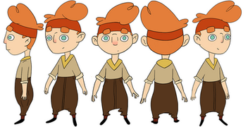 Ollie Character Design