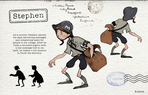Stephen Character Design