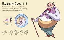 Bloomson III Character Sheet