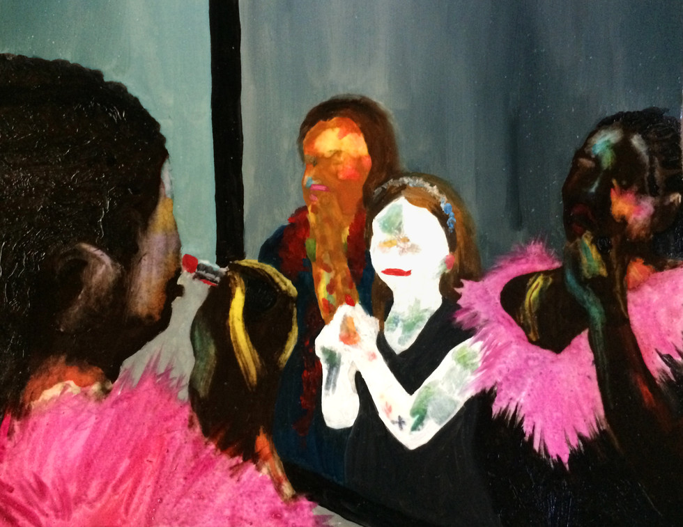 Girls in Mirror Study