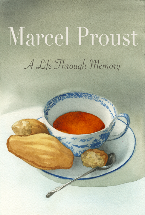 Book Cover Design for A Biography of Marcel Proust