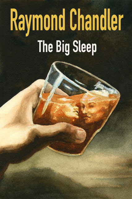 Book Cover Design for The Big Sleep