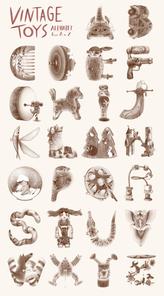 Vintage Toys Alphabet