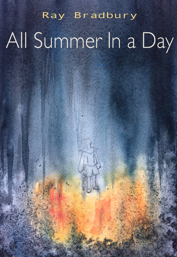 Book Cover Design for All Summer in A Day