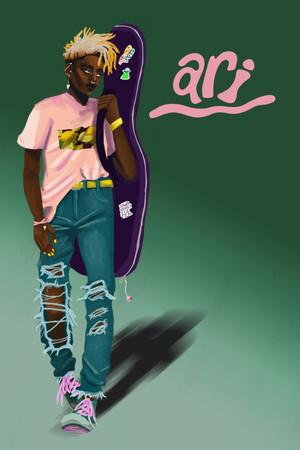 Character Design Ari