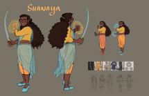 Shanaya Character Sheets