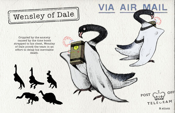 Wensley of Dale Character Design