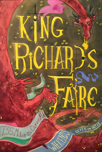 King Richards Faire Poster