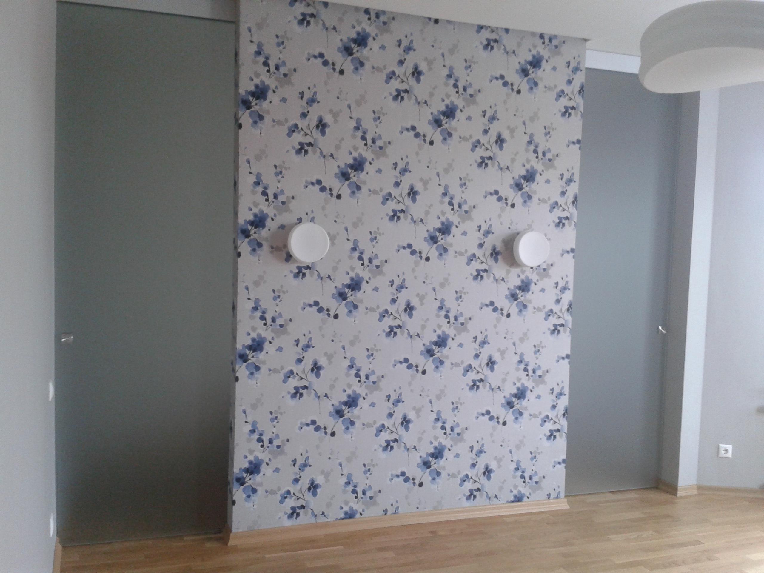 Интерьер стеклянные двери гардероба