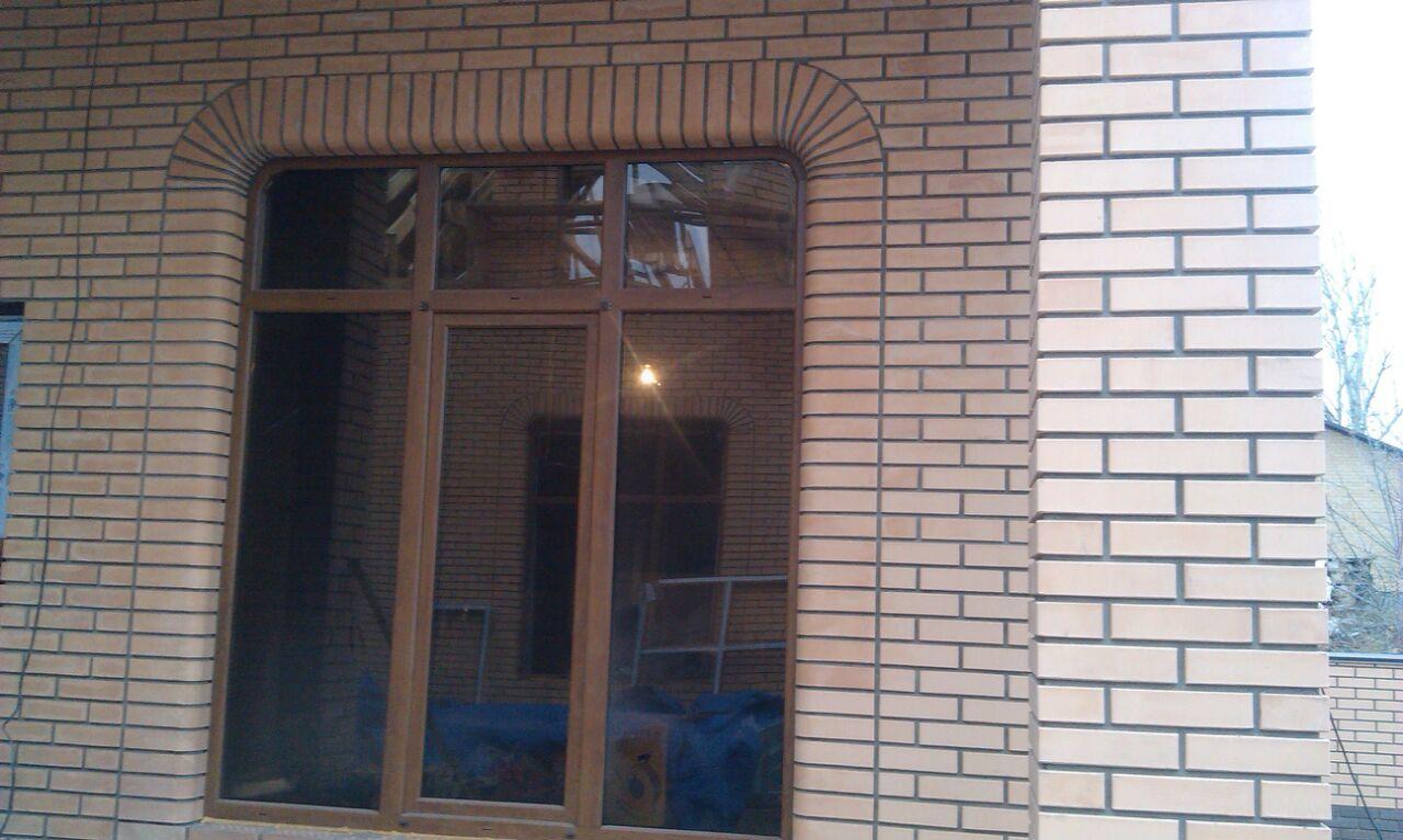 Окна ламинированные