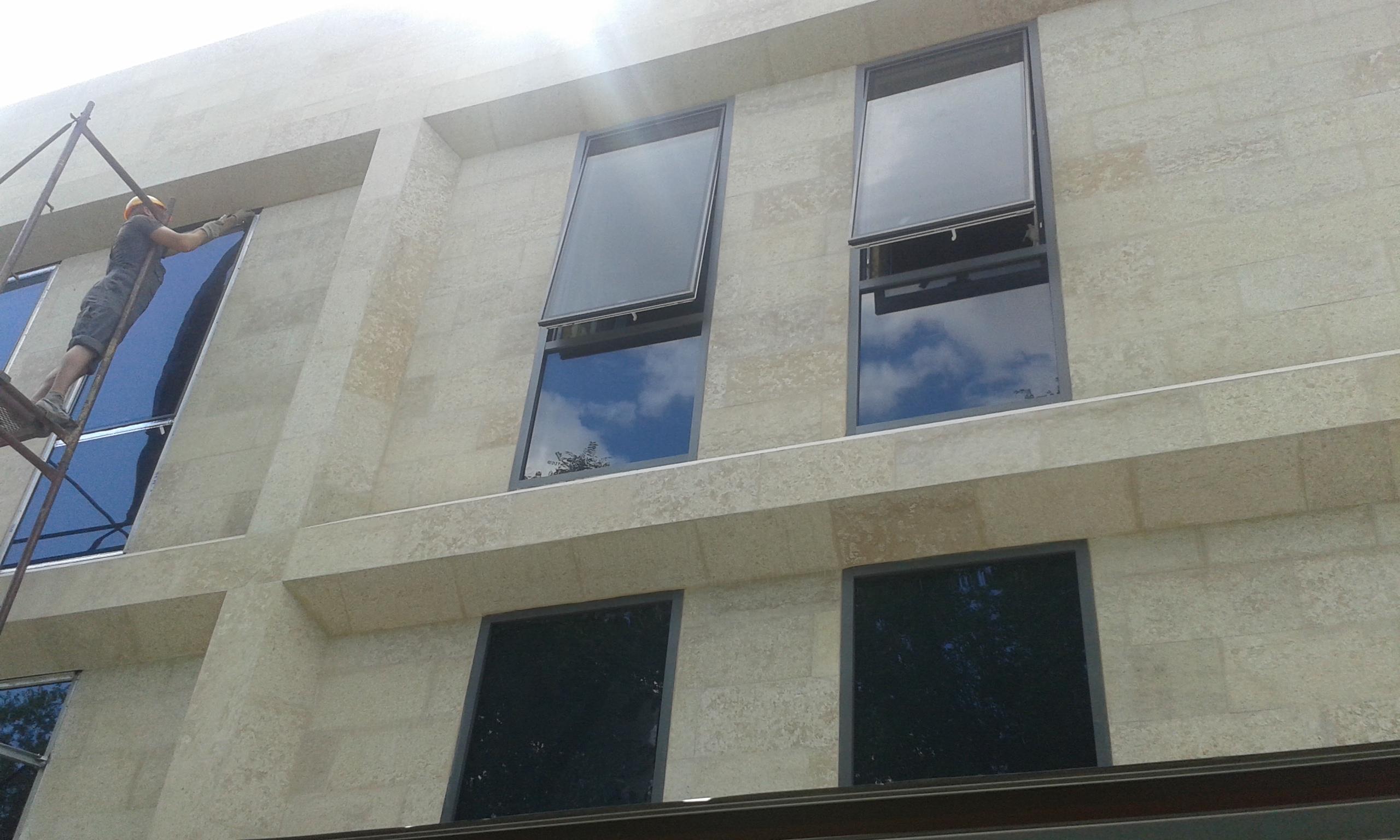 Окна наружного открывания