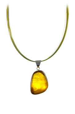 Great amber necklace.