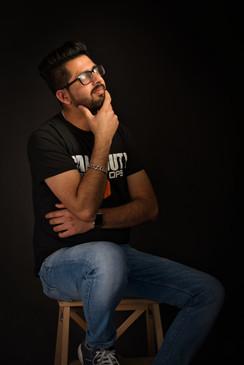 Portrait photography.