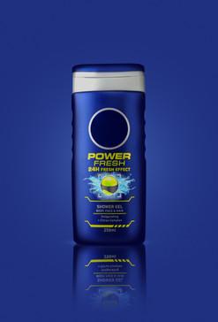 Men shower gel product.
