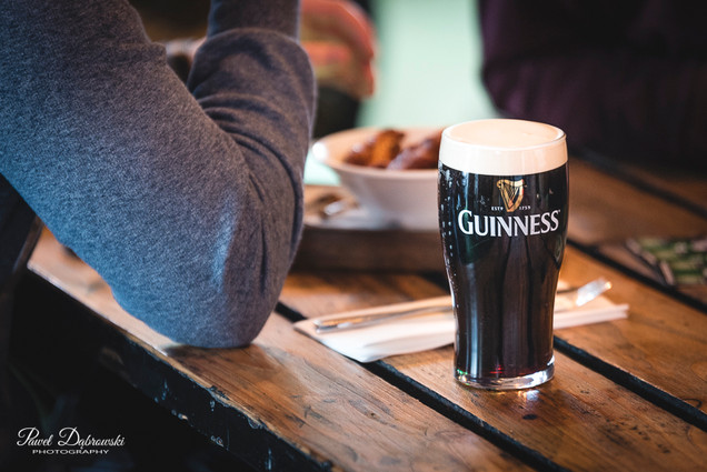 Guinness pint in The Martello, Bray, Co. Wicklow.