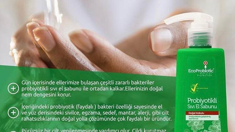 Probiyotikli Sıvı El Sabunu