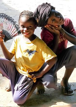 Enfants de Koundindé Guinée