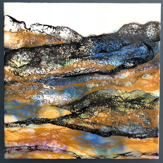 Floating vibes #1_I used the encaustic s