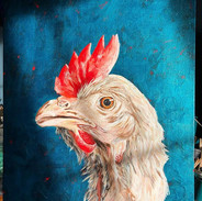 And it's done 😊_._Chicken nostalgia_Acr
