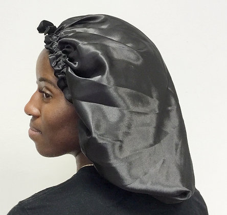 XL Drawstring Satin Bonnet