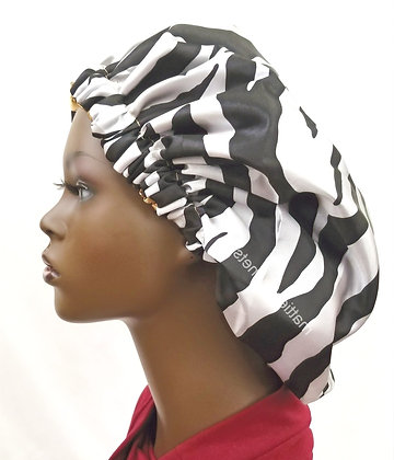 Drawstring Satin Bonnet
