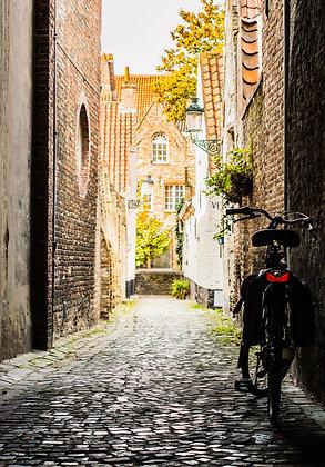 Little streets of Bruges