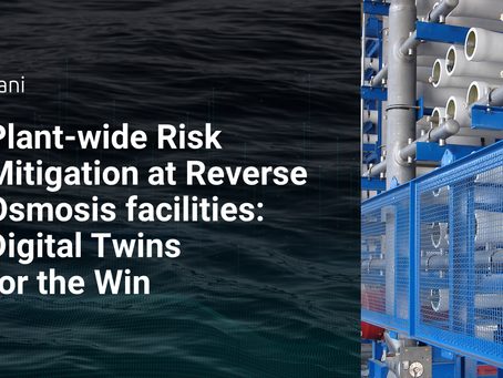 Plant-wide Risk Mitigation for Reverse Osmosis Facilities: Digital Twins for the Win