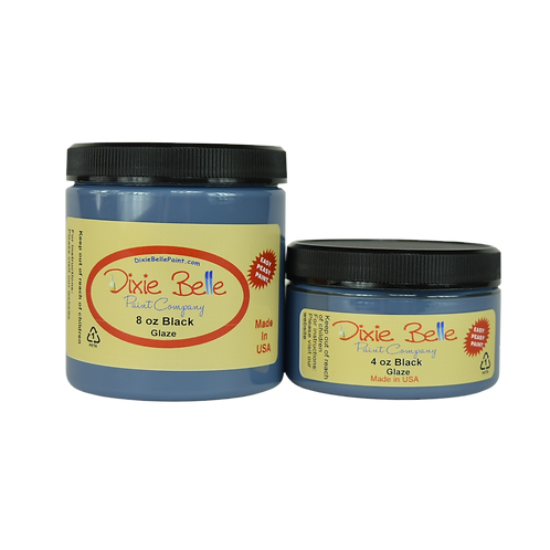 Black Glaze-Dixie Belle Paint-for Furniture/Cabinets/Any Surface