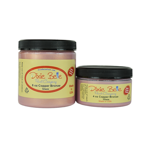 Copper Bronze Glaze-Dixie Belle Paint-for Furniture/Cabinets/Any Surface