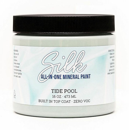 TIDE POOL -SILK ALL IN ONE Mineral Paint- DIXIE BELLE- Water/Stain Resistant