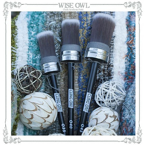 Cling On O45 Large Oval Brush