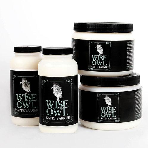 Wise Owl Varnish Matte Finish