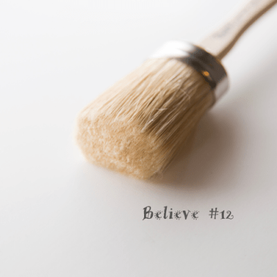 BELIEVE #12 OVAL BRUSH  Paint Pixie