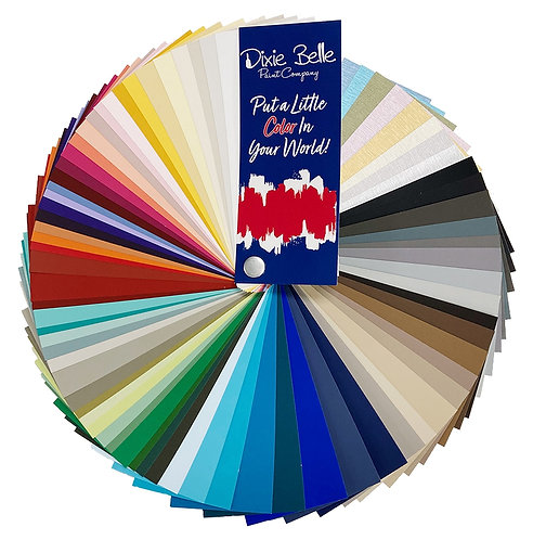 Dixie Belle Chalk Mineral Paint Fan Deck