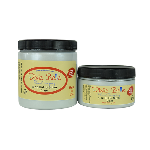 Hi Ho Silver Glaze-Dixie Belle Paint-for Furniture/Cabinets/Any Surface