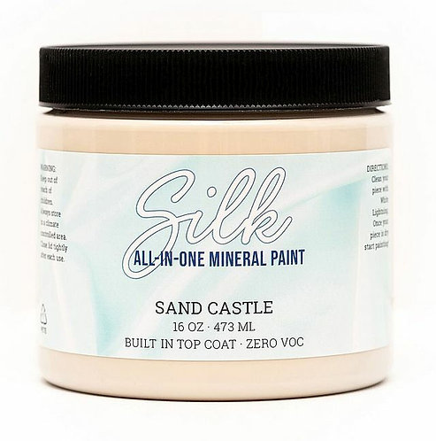 SAND CASTLE- SILK ALL IN ONE Mineral Paint- DIXIE BELLE- Water/Stain Resistant