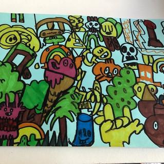 Bobby Sedge Year 7 Art.jpg