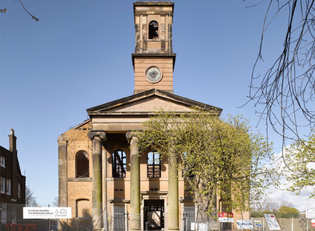 An exciting update on the restoration of Sheerness Dockyard Church
