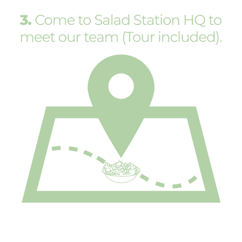 Come to Salad Station HQ