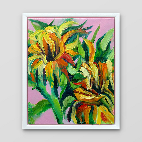 WILTING SUNFLOWERS II