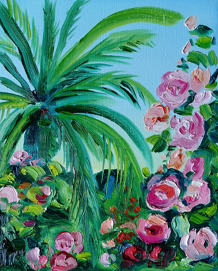 PALM TREE WITH ROSES (LOCKDOWN EDITIONS)