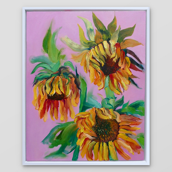WILTING SUNFLOWERS IV