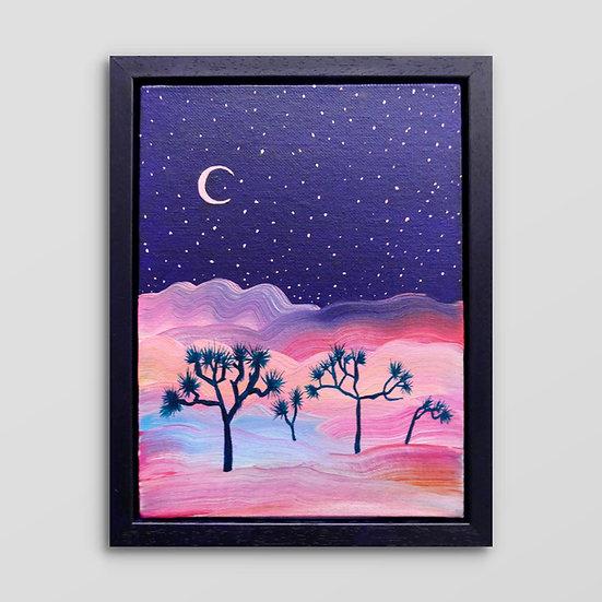 JOSHUA TREES & PINK STARS