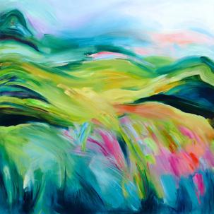 Alanna Eakin Bright summer majestic wounds abstract painting artist art.jpg