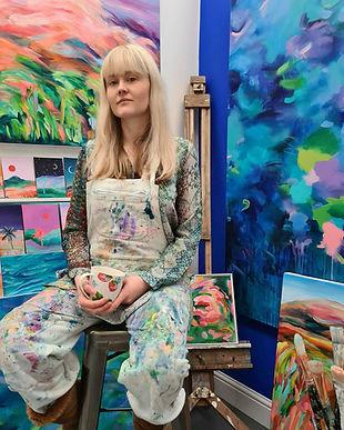 Alanna Eakin Artist London Painter Wimbl