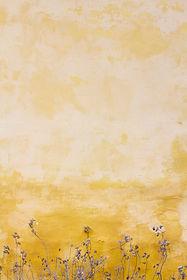 Purple Flowers on Yellow Wall.jpg
