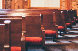 church congregation Pews with Sunlight.j