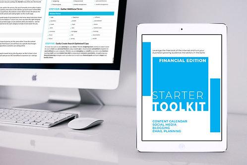 Starter Toolkit: Finance Edition